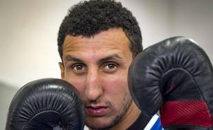 Sofiane Oumiha, le Toulousain champion du monde et vice-champion olympique de boxe.