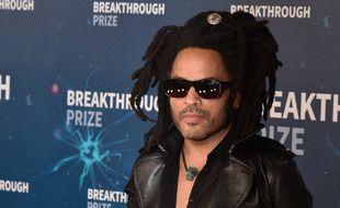 Le chanteur Lenny Kravitz