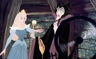 Le piège de l'abominable Maléfique se referme sur la princesse Aurore.
