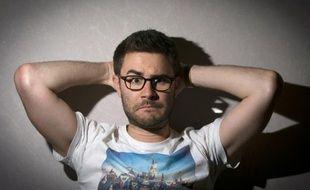 L'humoriste, YouTubeur et star d'internet, Cyprien, au Festival de Cannes, le 17 mai 2015