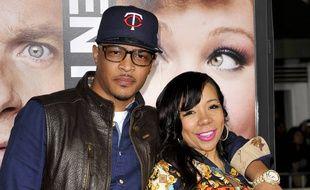 Le rappeur T.I et sa femme, Tameka 'Tiny' Cottle.
