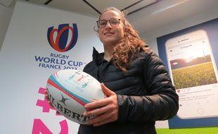 Laura Di Muzio, capitaine du club de rugby du LMRCV et consultante sur France Télévisions.