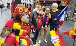 Fraternité entre Belges et Français à Tournai.