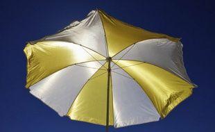 Illustration d'un parasol