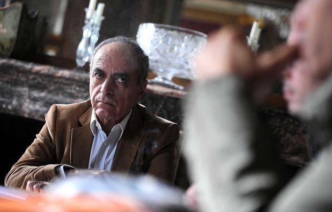 Ziad Takieddine, dans son appartement à Paris, en 2012.