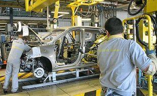 L'usine Renault de Douai.