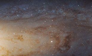Voici la photographie la plus grande et la plus nette réalisée par le télescope Hubble de la galaxie d'Andromède.