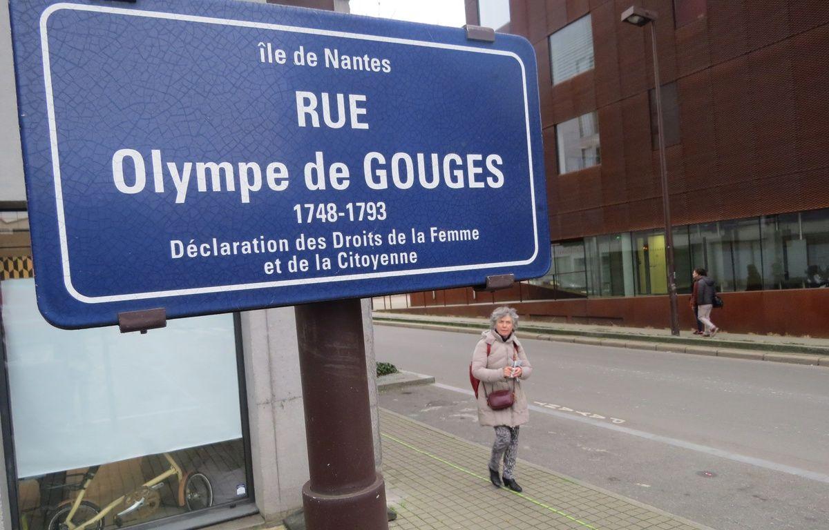 Rue Olympe de Gouges, sur l'île de Nantes. – J. Urbach/20 Minutes
