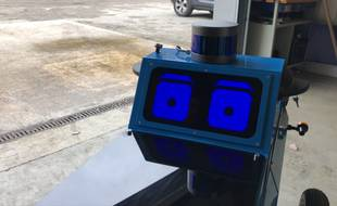 Sidene, le robot mignon qu'Enedis teste à Toulouse.