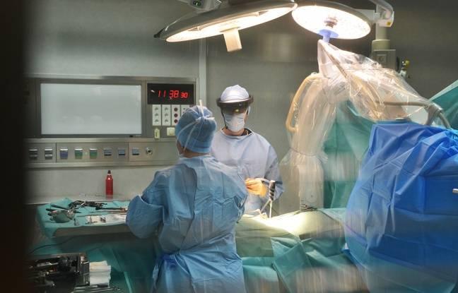 La première opération de chirurgie ouverte assistée par la réalité augmentée.