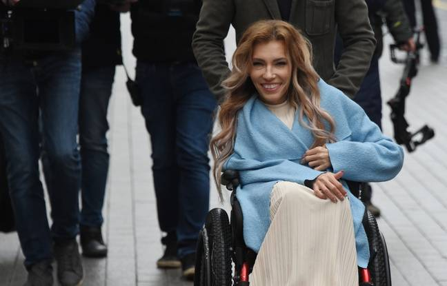 Ioulia Samoïlova, à Moscou, le 2 avril 2017.