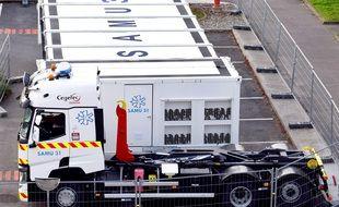 L'hôpital mobile du Centre de réponse à la catastrophe peut prendre en charge 18 patients, dont huit en urgence absolue.