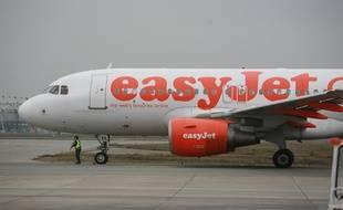 Photo d'illustration d'un avion de la compagnie EasyJet.