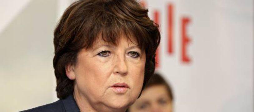 La maire (PS) de Lille, Martine Aubry.