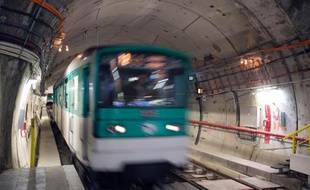 Illustration de la ligne 6 du métro parisien.