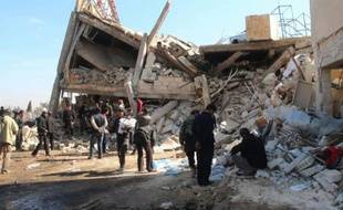 "Syrie: les hôpitaux ""délibérément"" ciblés (MSF)"
