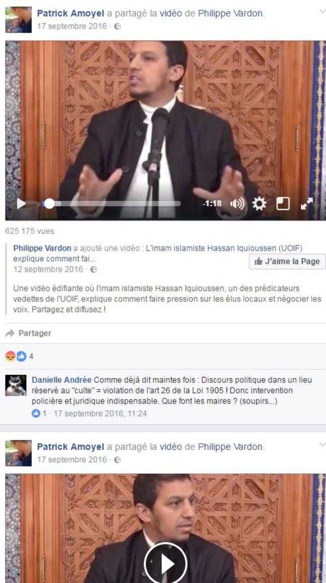 Page Facebook de Patrick Amoyel.