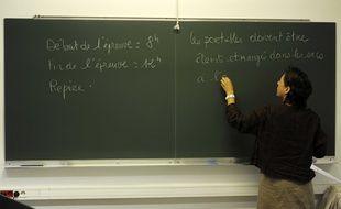 Début des épreuves du baccalauréat2010 au lycée Jacques-Callot de Vandoeuvre-lès-Nancy, le 17 juin 2010.