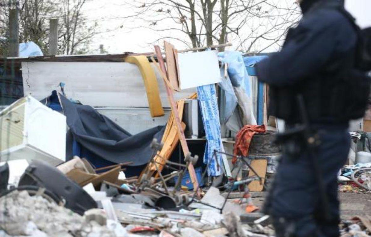 Le camps de Roms qui se trouvait à proximité de la salle de concert Le Transbordeur à Villeurbanne et près de la Cité internationale de Lyon a été évacué mercredi 13 septembre. (illustration) – Kenzo Tribouillard AFP