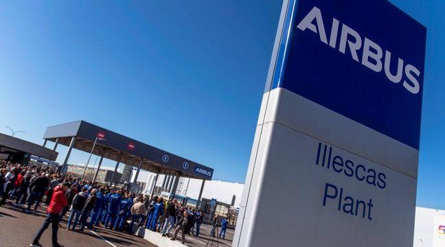 Airbus suspend sa production en Espagne jusqu'au 9 avril