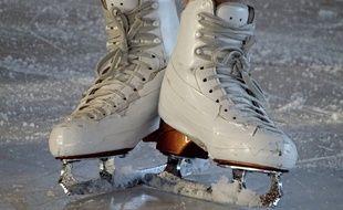 Des patins à glace (Illustration)