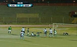 Un match de championnat péruvien le 12 juillet 2014.