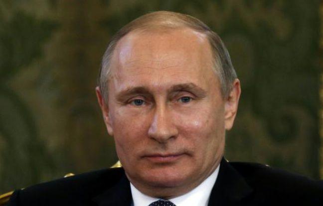 Le président russe Vladimir Poutine au Kremlin à Moscou le 15 mars 2016.