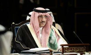 Le ministre de l'Intérieur et prince héritier Mohammed Ben Nayef à Manama, le 23 avril 2013