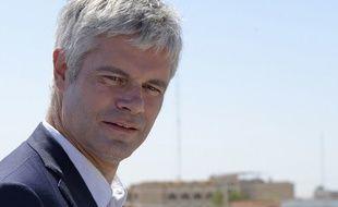 Le chef de file des Républicains Laurent Wauquiez était en déplacement en Irak