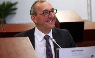 Le conseiller régional de Bretagne Front National Gilles Pennelle, ici le 18 décembre 2015.