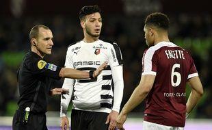 Ramy Bensebaini et consorts avaient arraché le nul (1-1) à la 90e minute lors du dernier Metz-Rennes, le 4 mars 2017.