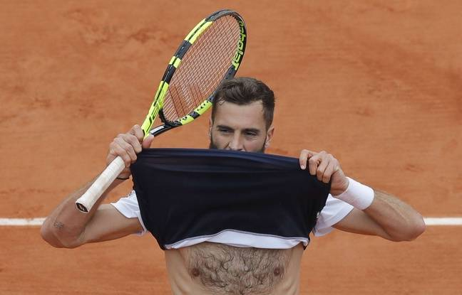Roland-Garros: Benoît Paire s'en veut d'avoir perdu «tout seul» mais se réjouit de ce qu'il a vécu sur le Lenglen