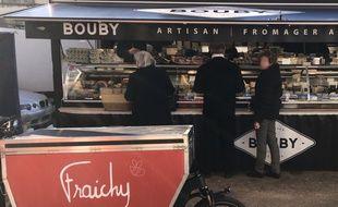 L'artisan fromager Bouby est l'un des commerçants qui ont adhéré au concept.