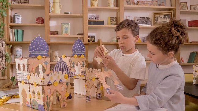 Un jeu pour les enfants dès l'âge de 4 ans.