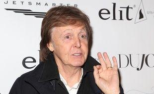 Le chanteur Paul McCartney à New York