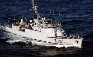 Le «Commandant Birot», de la Marine nationale française
