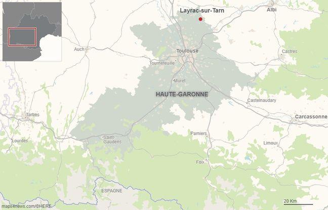 La commune de Layrac-sur-Tarn en Haute-Garonne.