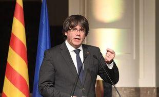 Le président catalan destitué Carles Puigdemont