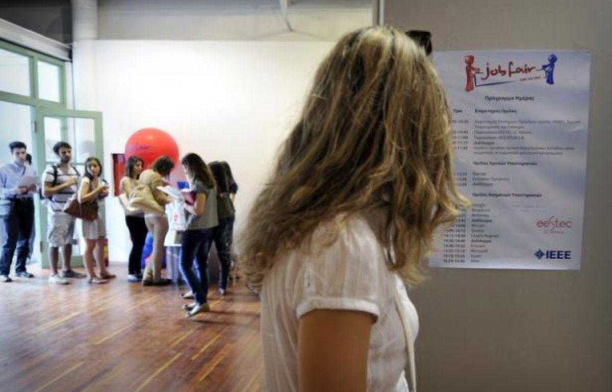Le taux de chômage en Grèce a continué à s'aggraver au premier trimestre 2012, grimpant à 22,6% contre 20,7% au trimestre précédent, a annoncé jeudi l'Autorité des statistiques grecques (Ase). – Louisa Gouliamaki afp.com