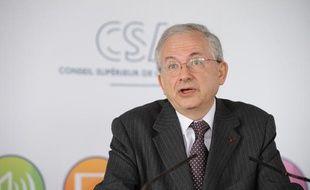 Olivier Schrameck à Paris le 19 mars 2013.