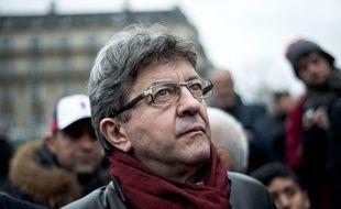 Jean-Luc Mélenchon le 21 mars 2015.