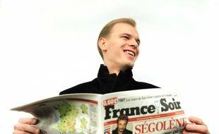 Alexandre Pougatchev, propriétaire de France Soir, le 14 janvier 2011