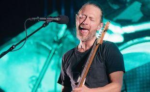 Radiohead en concert à Manchester en octobre 2012