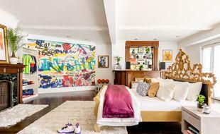 La chambre du personnage Will Smith dans Le Prince de Bel-Air