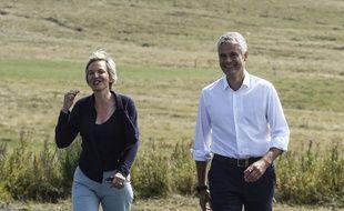 Virginie Calmels et Laurent Wauquiez, le 3 septembre 2017
