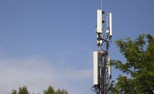 Une antenne de téléphonie 5G (Illustration).