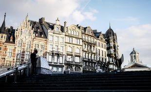 Vue générale de Bruxelles réalisée en octobre 2017.
