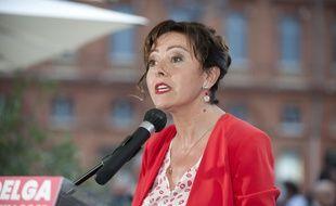 Carole Delga, présidente de la région Occitanie, à Toulouse le 27 juin 2021.