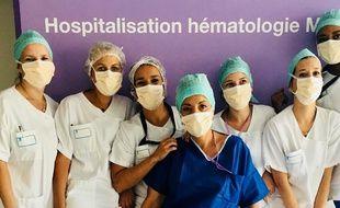 L'équipe soignante du service d'hématologie de l'hôpital Lyon-Sud en appelle aux Bleus pour offrir un maillon avec la deuxième étoile à l'un de leur patient, atteint de leucémie.
