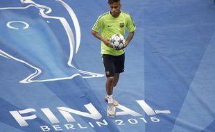 Neymar à Berlin, le 5 juin 2015.